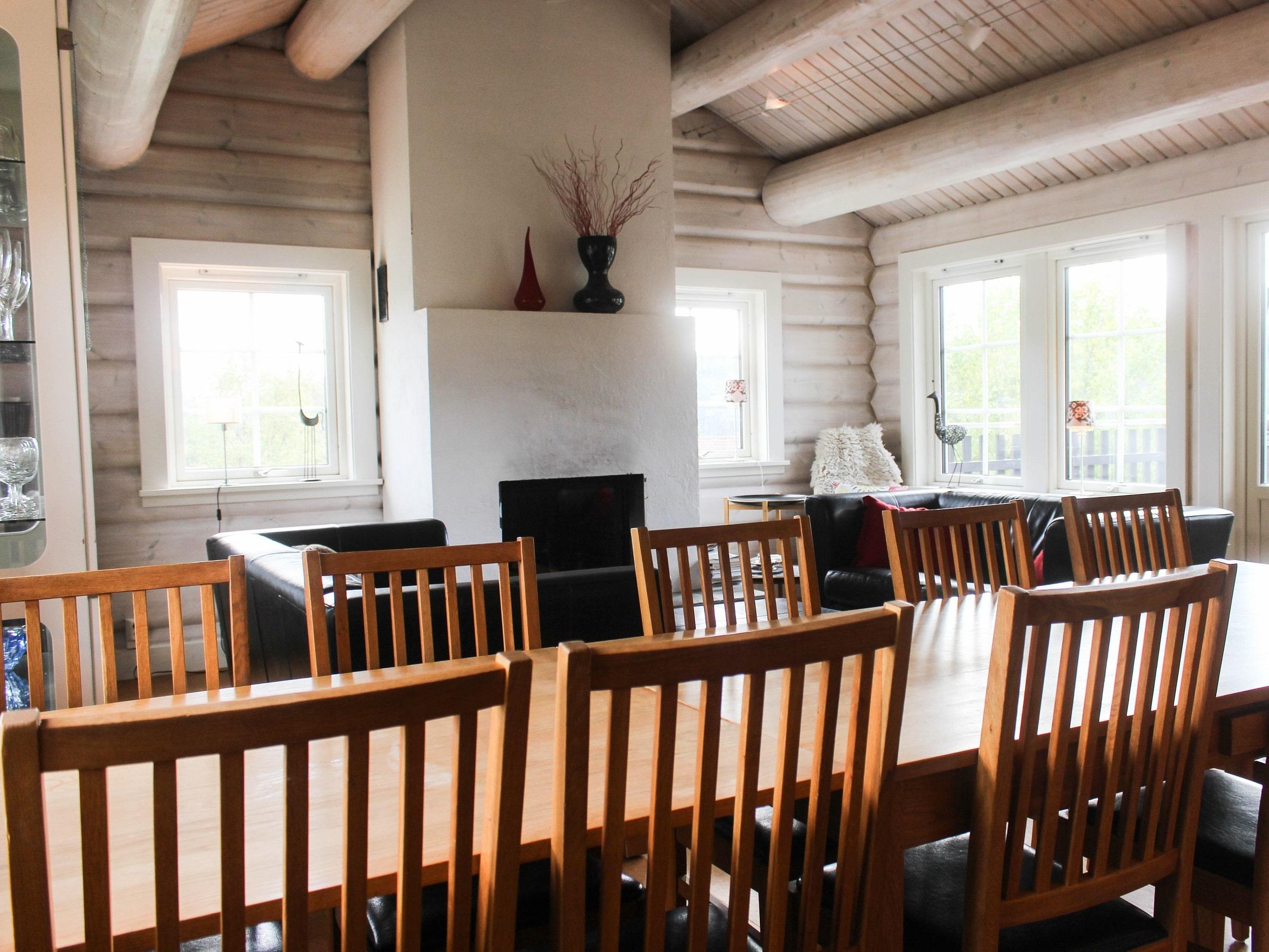 Living room Björnängelägret 6 in Åre.