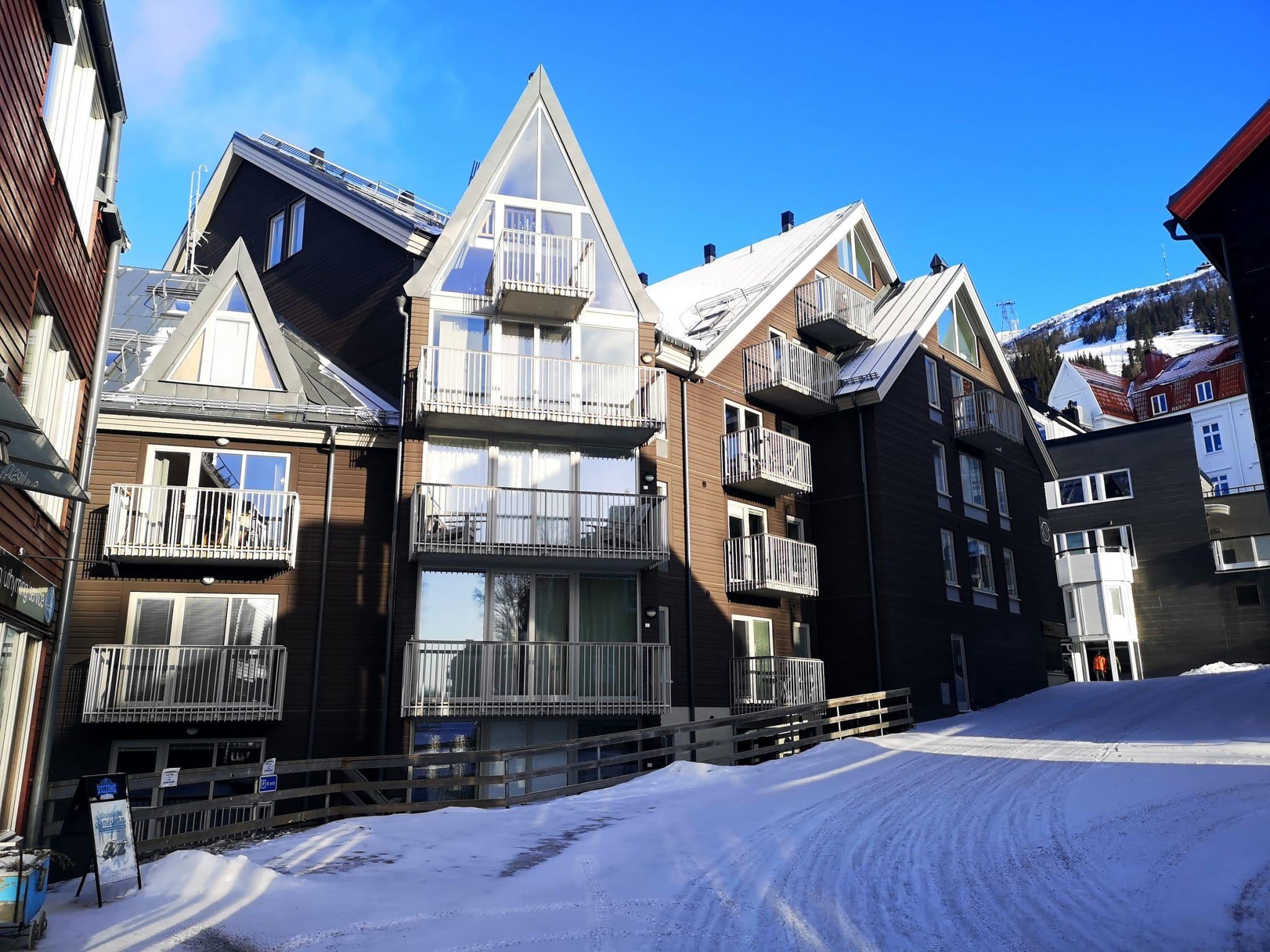 Dähliehuset Åre in winter