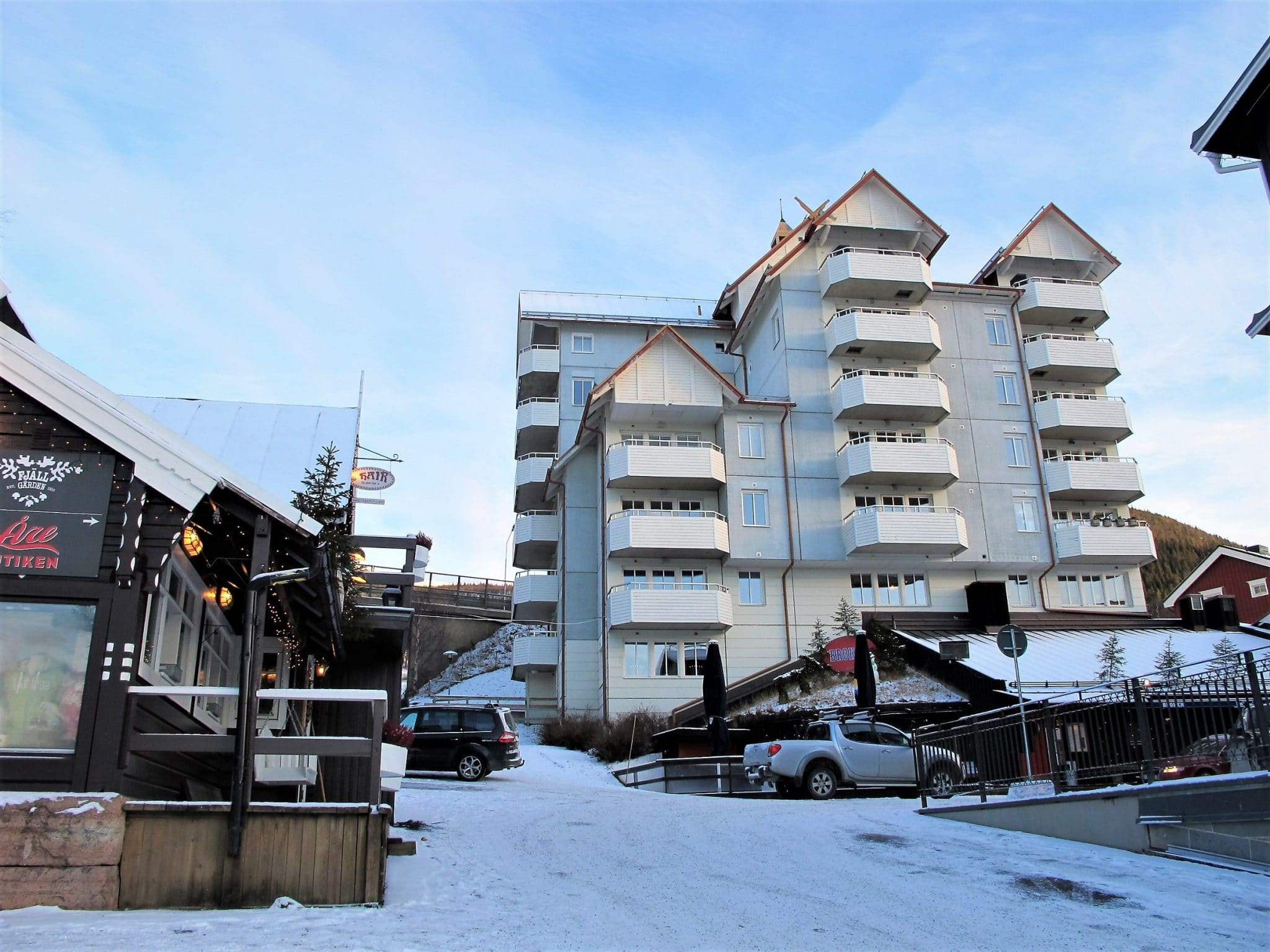 The freestyle house at Åre Torg