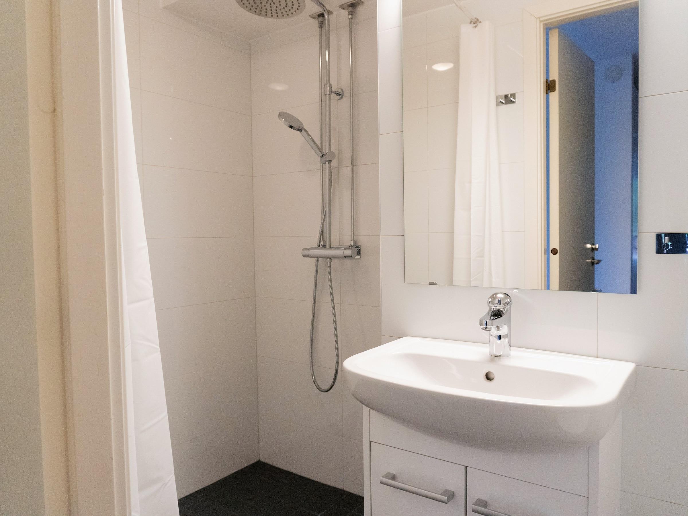 Tiled bathroom in Hummeln in Åre