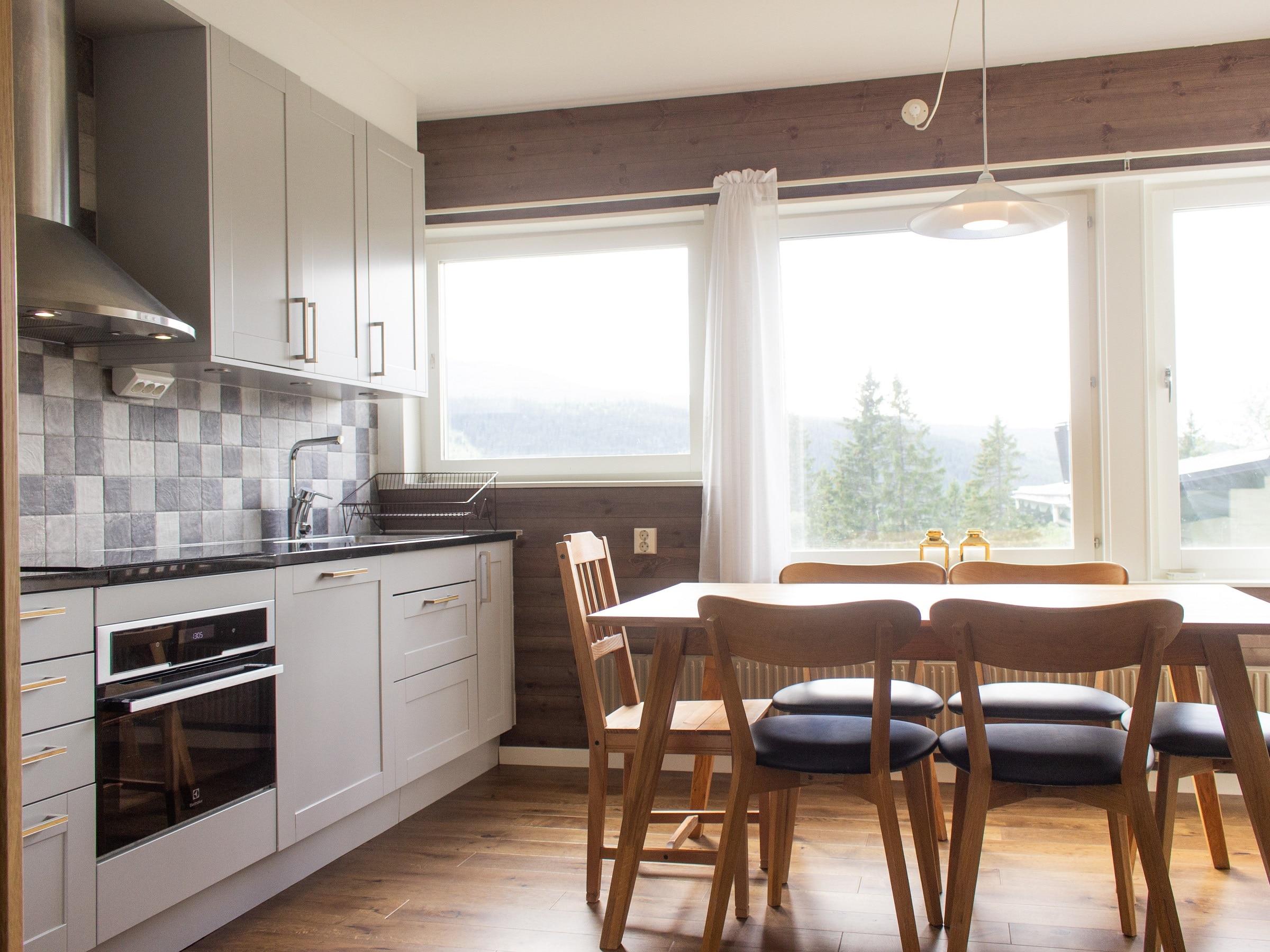 Kitchen in Hummeln in Åre
