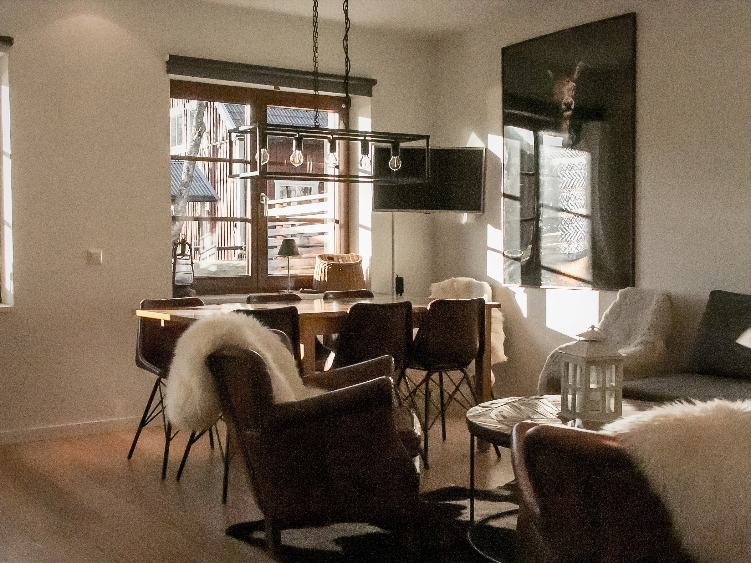 Cozy living room in Luxhuset in Åre