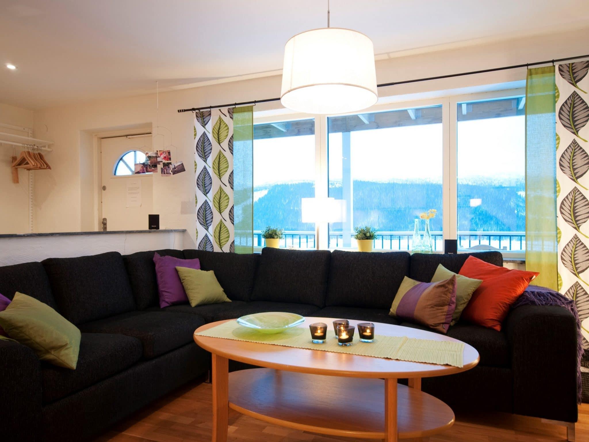 Vardagsrum med utsikt över Åresjön i Olympia !