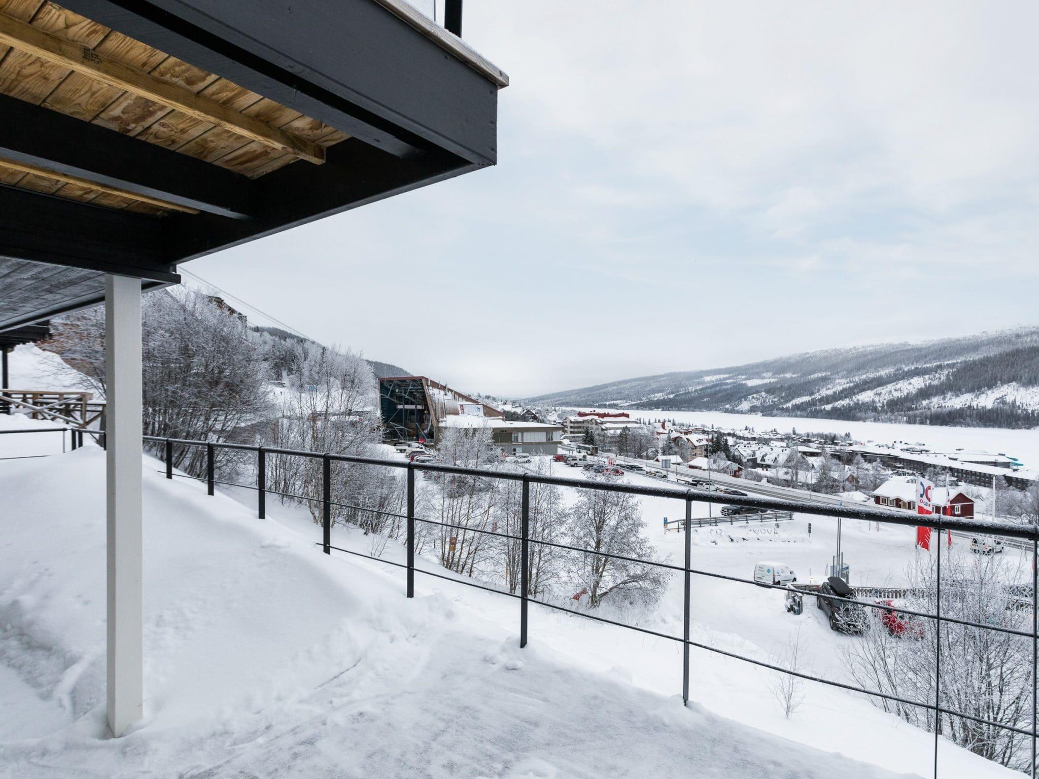 VY vintertid från Slalomsvängen 6 i Åre