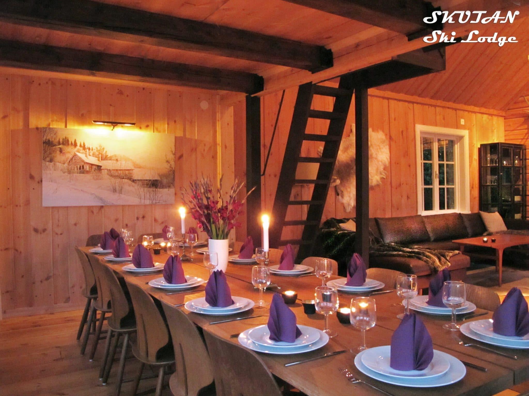 Dukat bord i Skutan Skilodge i Åre