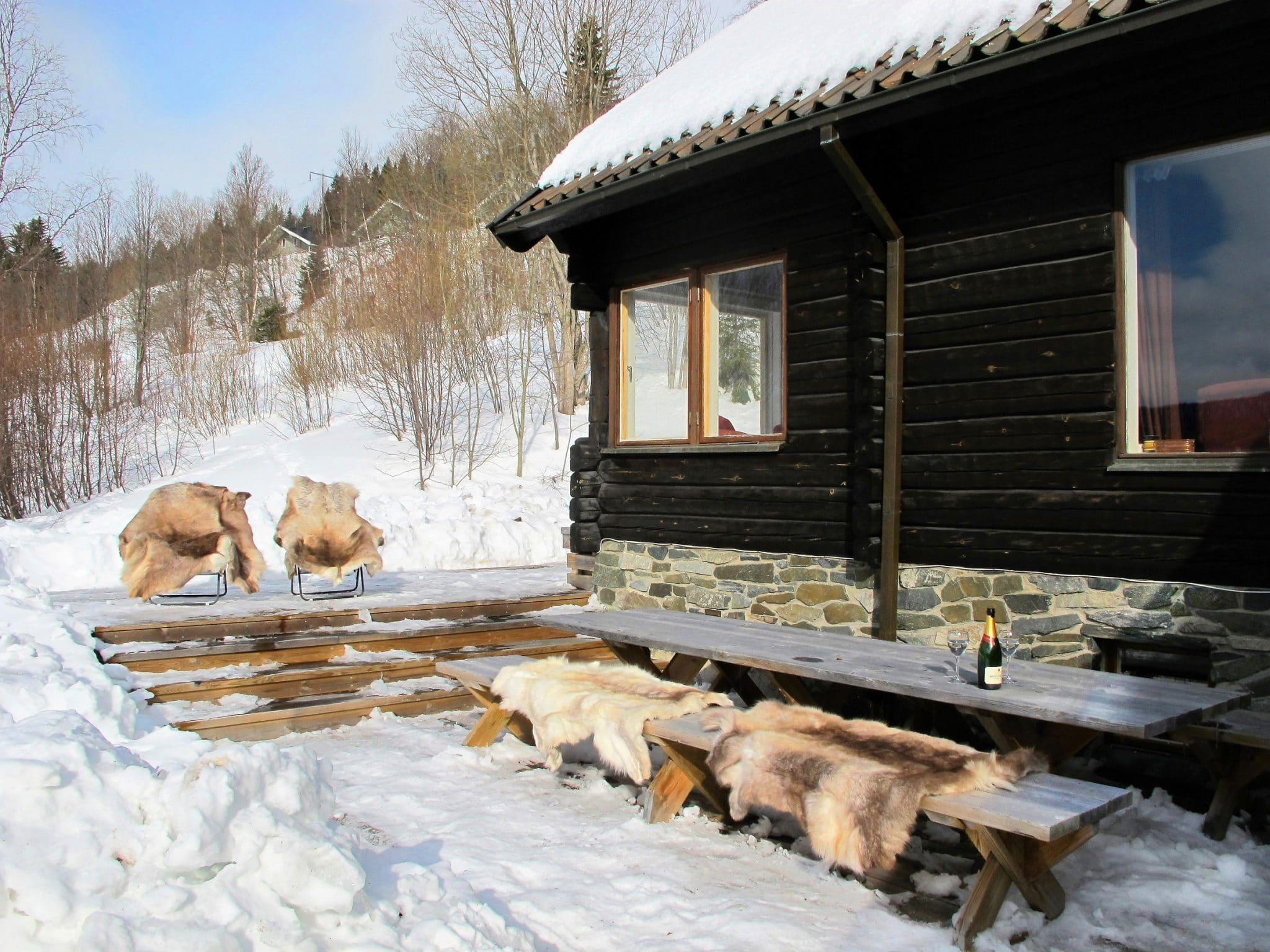 Altan på Skutan Ski Lodge