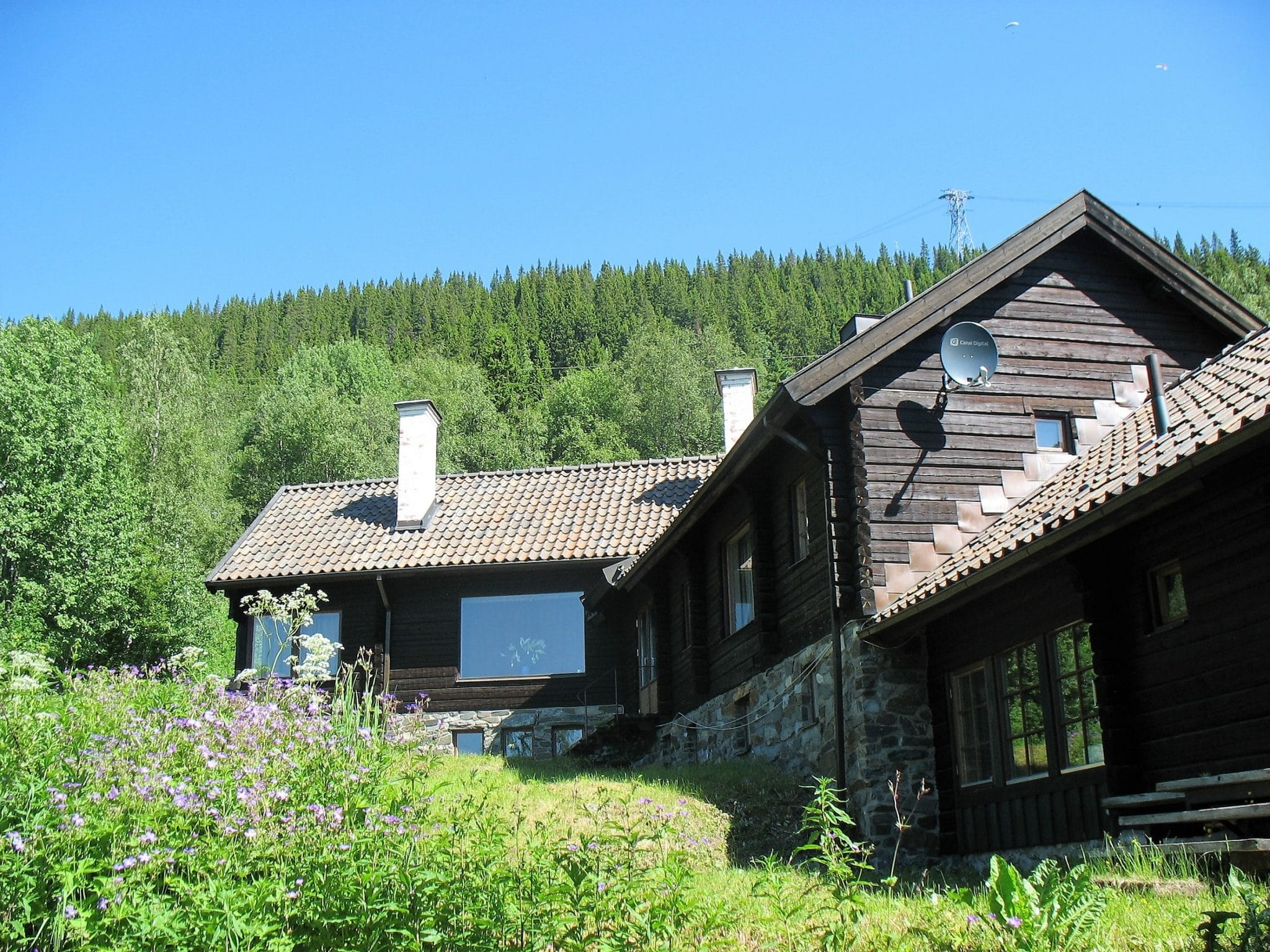 Skutan Ski Lodge i Åre sommartid