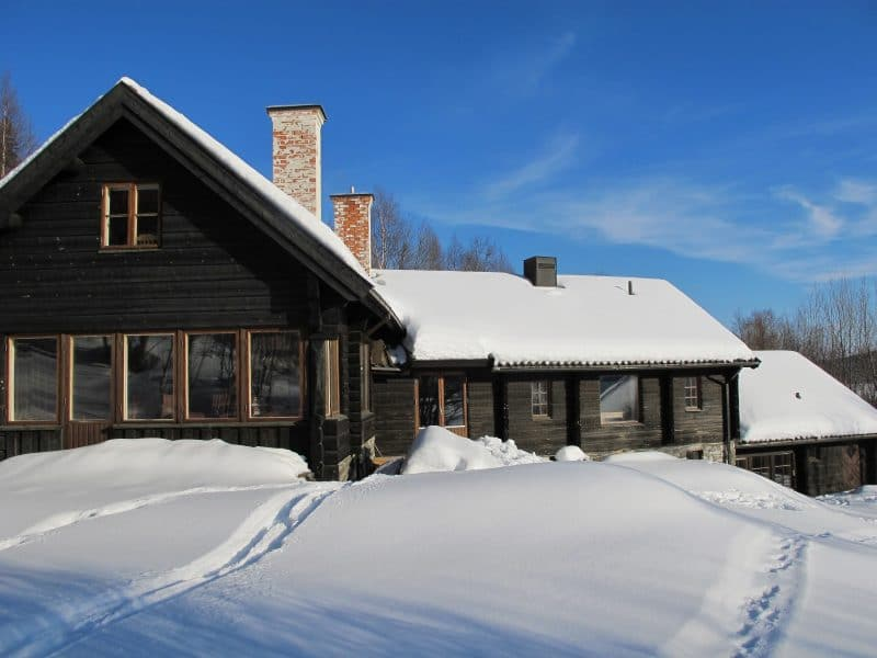 Skutan SkiLodge i Åre vintertid