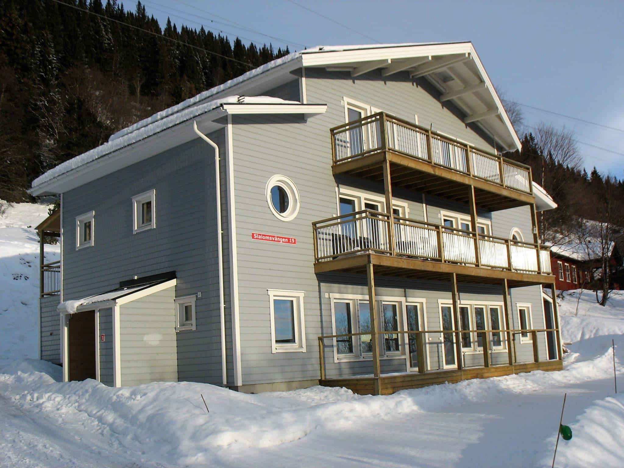 Slalomvillan 19 in winter
