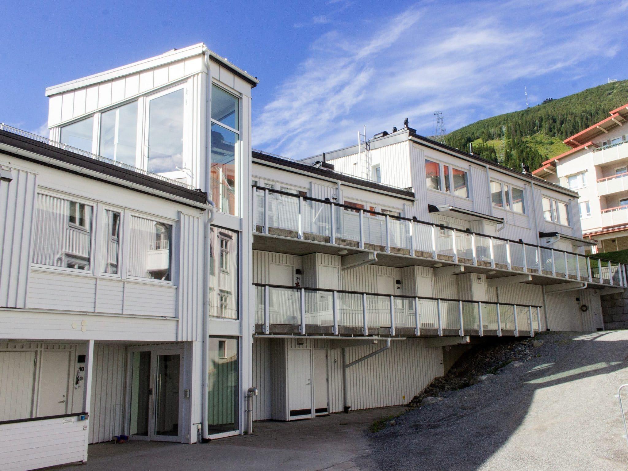Sommarbild på Sporthotellet 2 i Åre