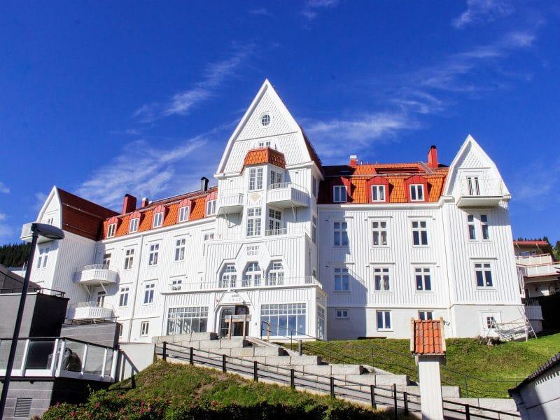 Sommarbild på Sporthotellet 1 i Åre
