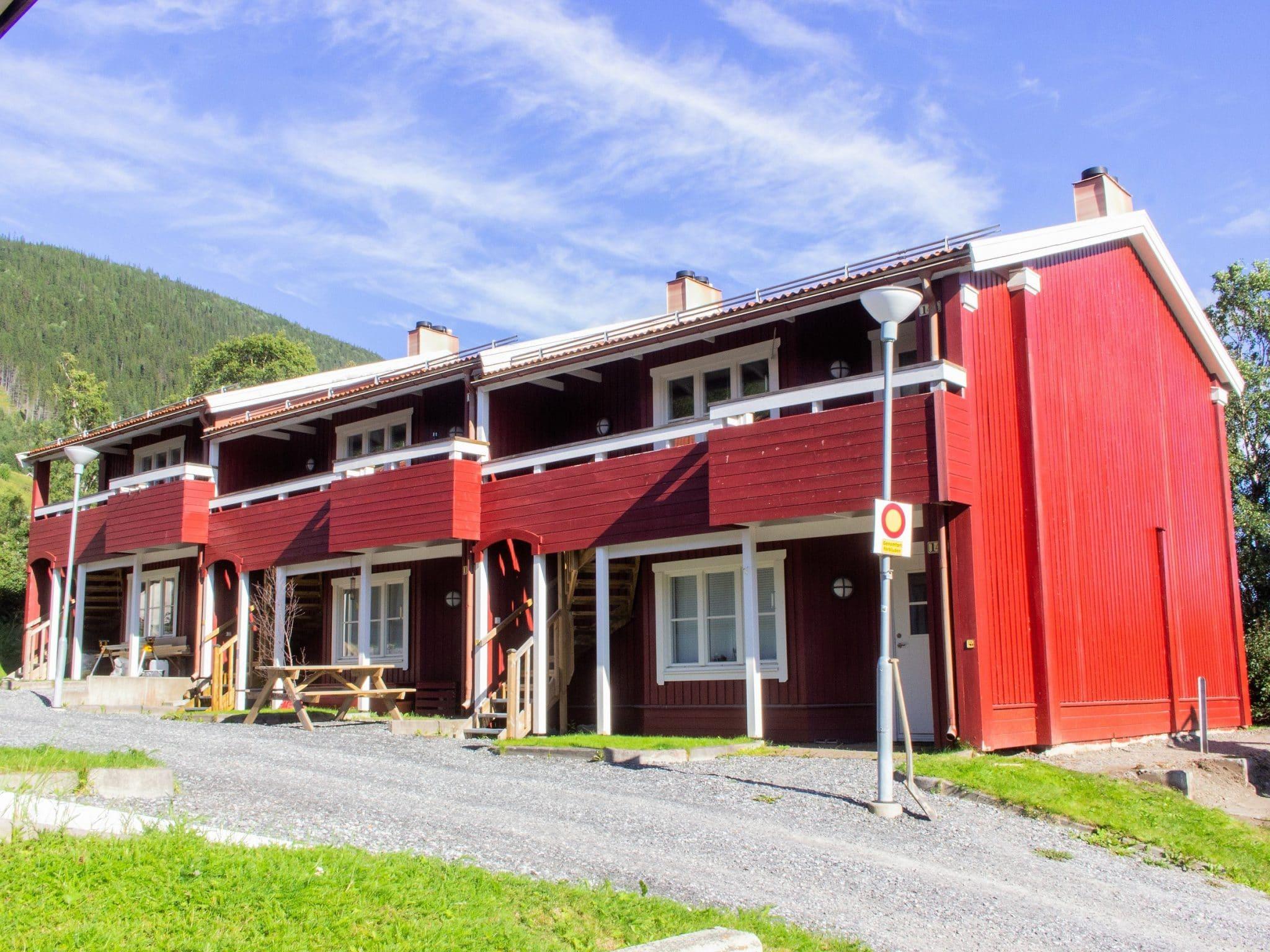Torvtaket sommartid i Åre