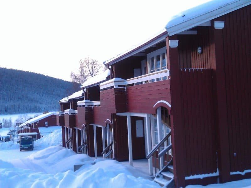Torvtaket i Åre vintertid