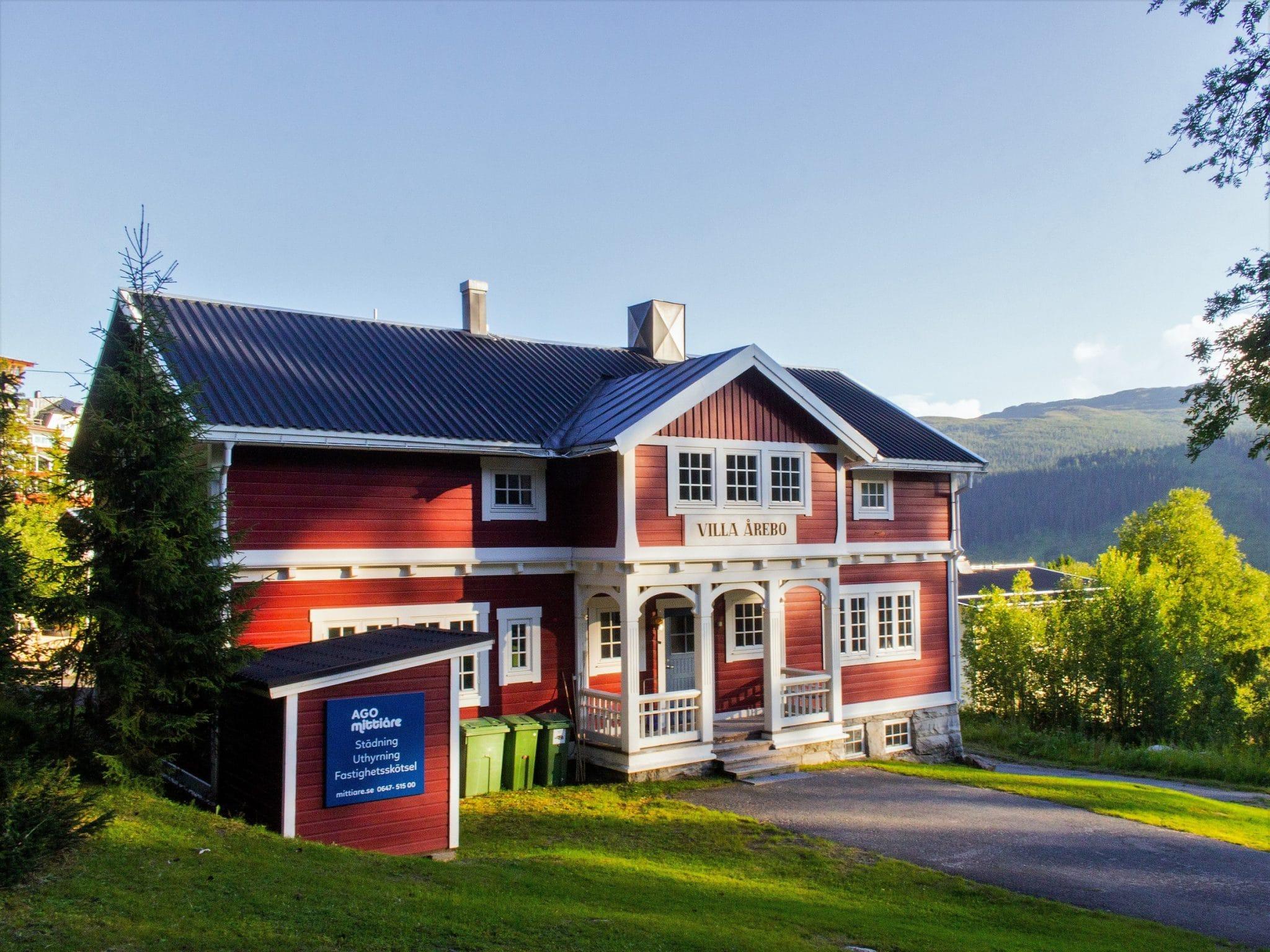 Villa Årebo sommartid