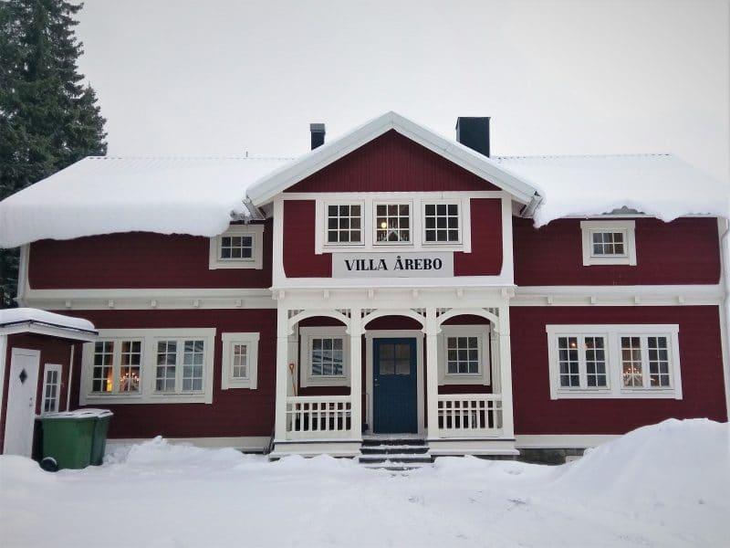 Villa Årebo i Åre vintertid