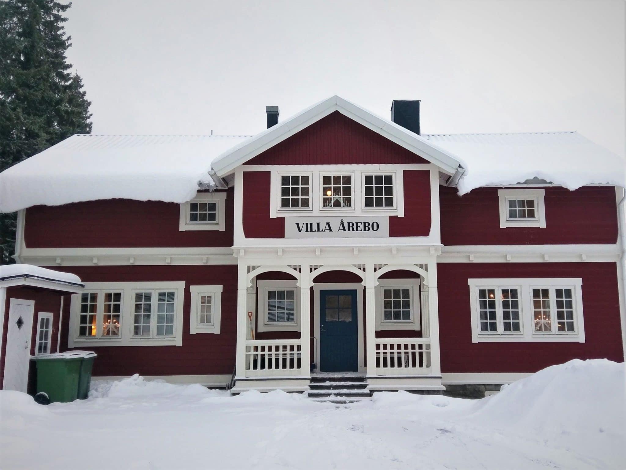 Villa Årebo in Åre in winter