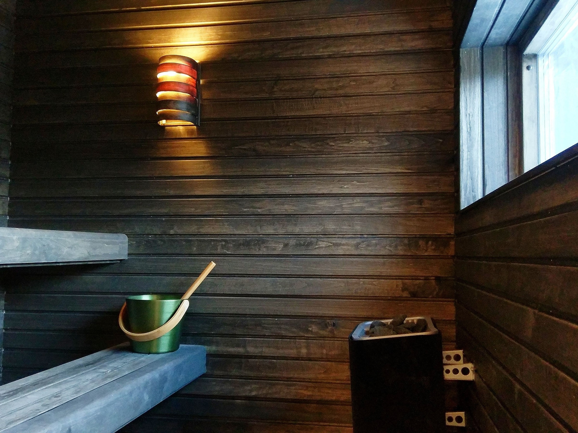 Spacious sauna in Skiers Lodge in Åre