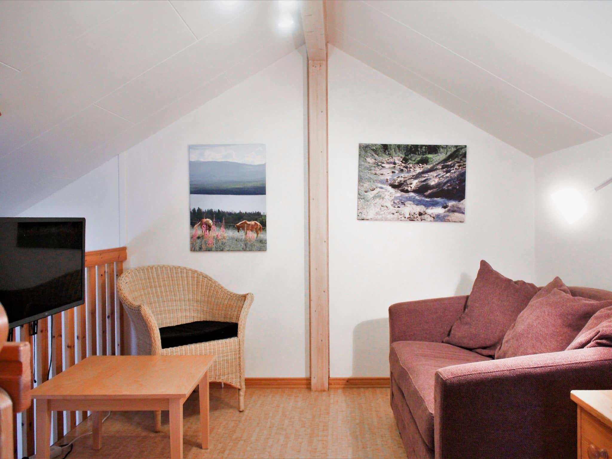 TV rum på loftet