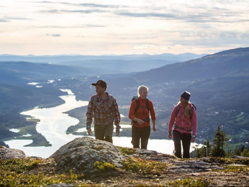 Hiking in Åre