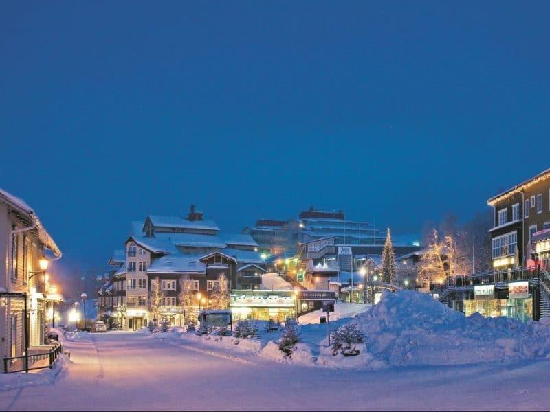Åre square Christmas